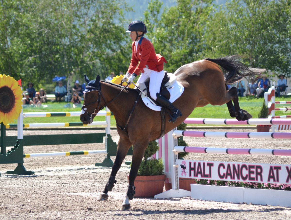 Hawley Bennett-Awad and Jollybo. Photo by Leslie Wylie.