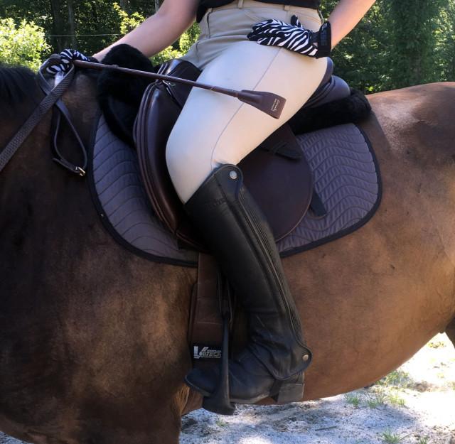 Total Saddle Fit and Draper Therapies Saddle Pad