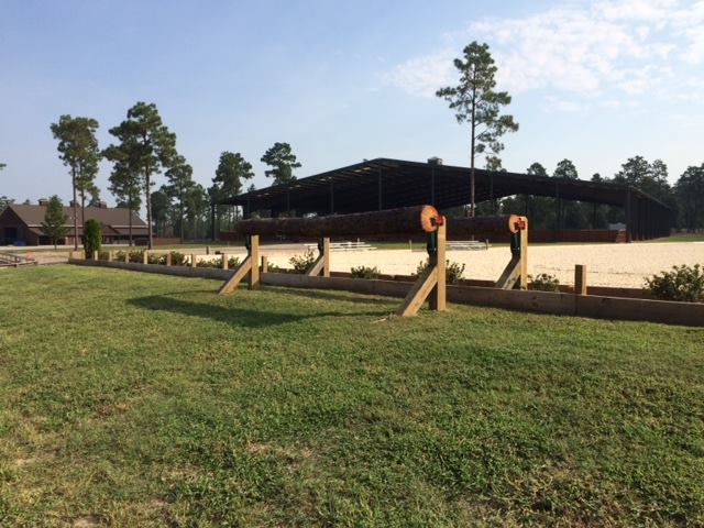 Capt. Mark Phillip's Advanced course will run through the main arena and derby field. Photo courtesy of Stable View.