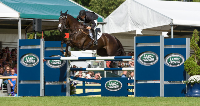 Elisa Wallace and Simply Priceless finish 14th at The Land Rover Burghley Horse Trials 2016