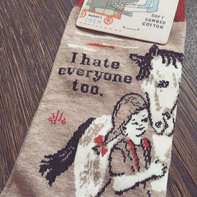 With winter coming, it's time to stock up on socks for the barn!