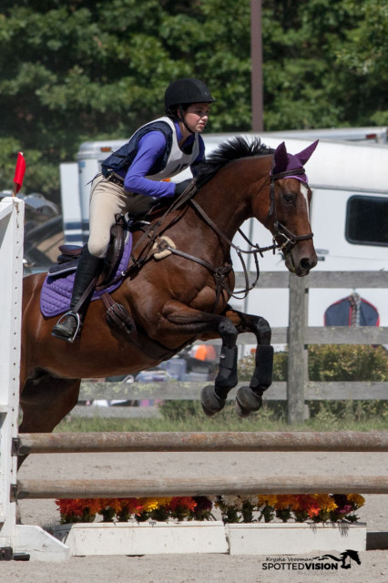 Katie Channing and Total Deposit, winners of the Advanced Elementary Championship. Photo by Krystie Vrooman/ Spotted Vision Photography.
