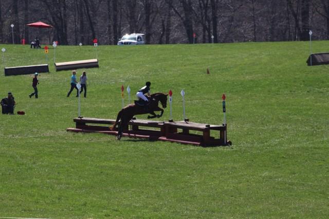 Brigid Thompson riding Warren. Photo courtesy of Ella Groner.