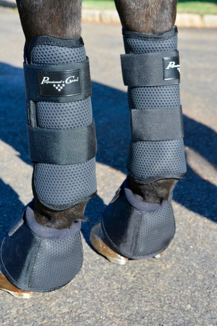 The non-slip lining of the Pro Performance XC Boots prevents slipping but also stops any rubs. Photo by Kate Samuels.