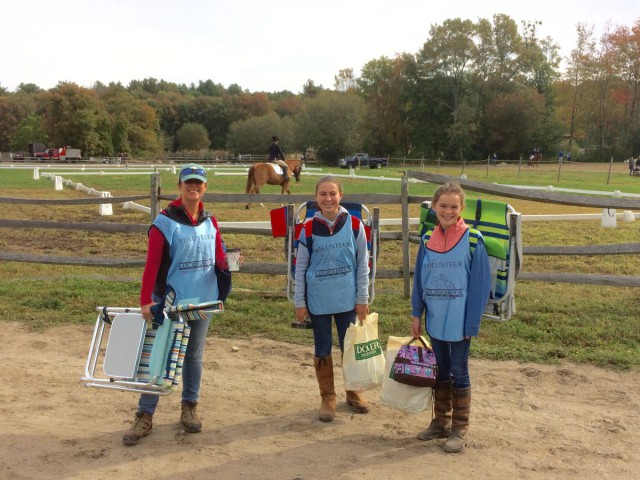 A few more dedicated Course Brook Farm volunteers. Photo courtesy of Kristie Gill.