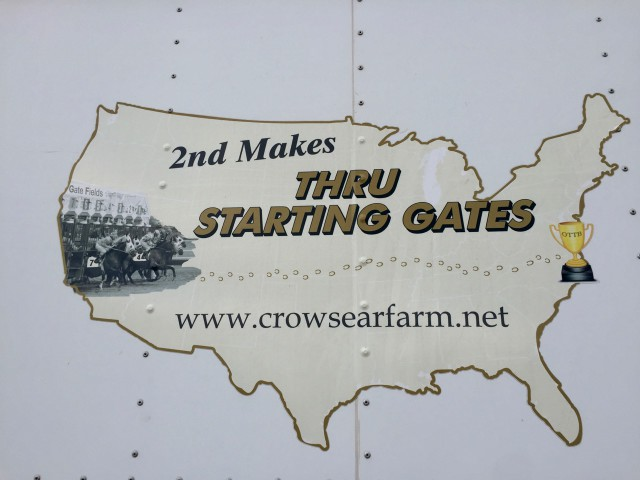 2nd Makes Thru the Starting Gates Logo Photo by Samantha Clark