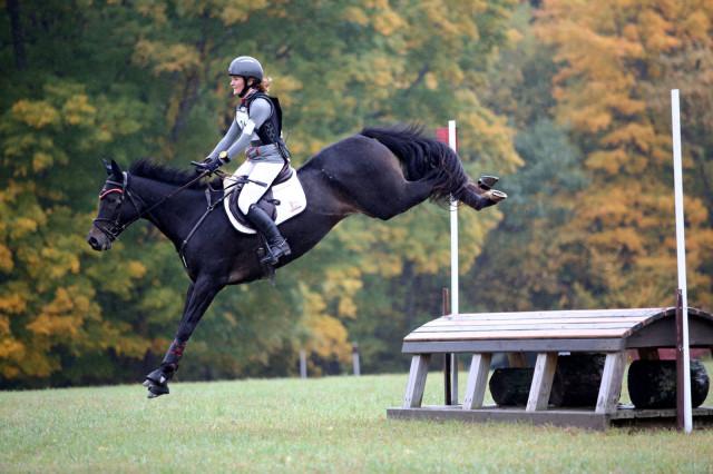 Kaitlyn Schultz riding H.B. Mars at Kent School. Photo by Brian Wilcox/ Connecticutphoto.com