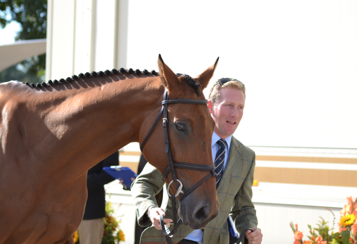 Oliver Townend and Cooley SRS. Photo by Leslie Wylie.