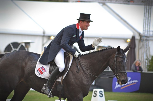 Oliver Townend and MHS King Joules. Photo by Leslie Wylie.