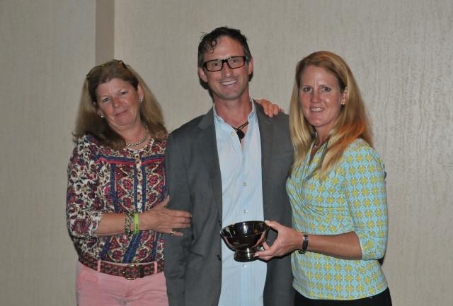 Jane Murray, Marc Donovan and Allison Springer. Photo by Leslie Threlkeld.