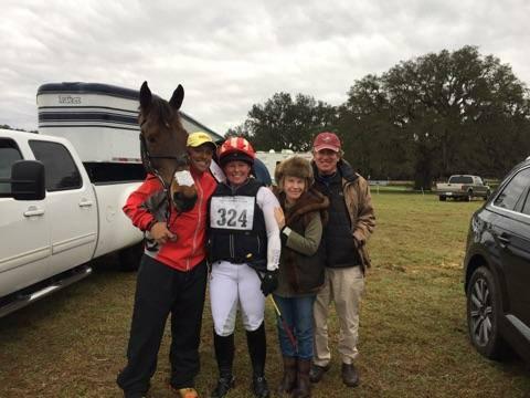 Team Reggie! Buck Davidson, Kathleen Murray, Cassie and Carl Segal. Photo via Kathleen Murray.