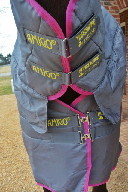 The Amigo All-In-One Insulator has high quality latches with good overlay for comfort. Photo by Kate Samuels.