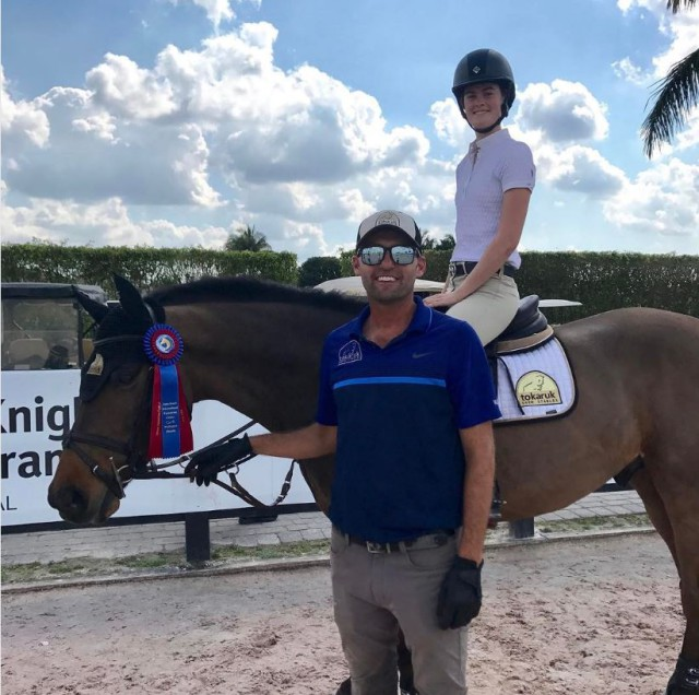 Michael and student Arden Stephens aboard Ultra T. Photo courtesy of Michael Tokaruk