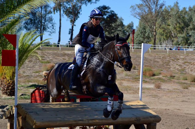 Leah Breakey and Master King II at Galway Downs. Photo by Rachel Waters.