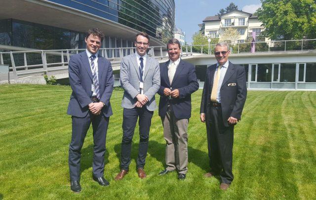 Sam Watson and Diarm Byrne will be presenting alongside David O'Connor and Giuseppe Della Chiesa. Photo courtesy of EquiRatings.