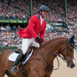 Phillip Dutton and Mr Medicott. Photo by Leslie Threlkeld.