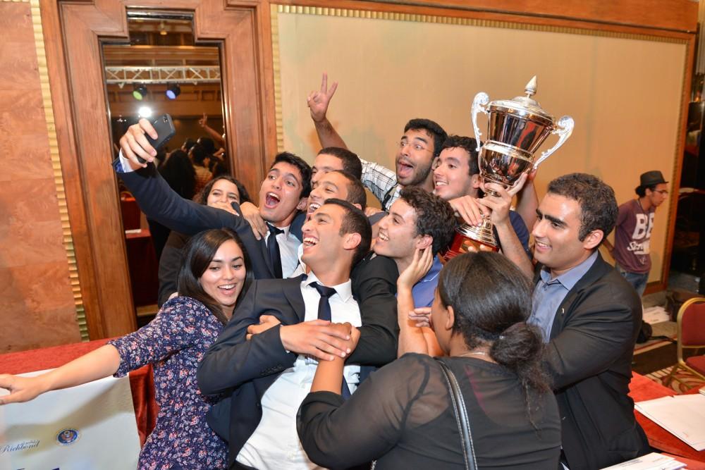national champions celebrating