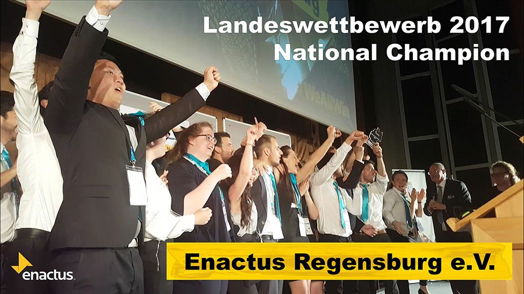 Highlights from the 2017 Enactus Germany National