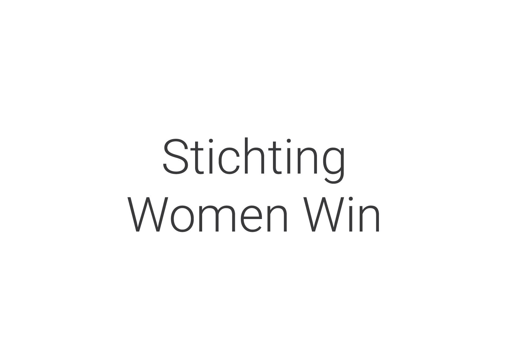 Stichting Women Win