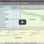 YouTube Lesson 2: Intro To Primavera P6