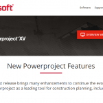 Powerproject Version XV Features