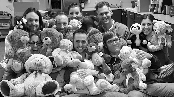 bears for cooks childrens hospital
