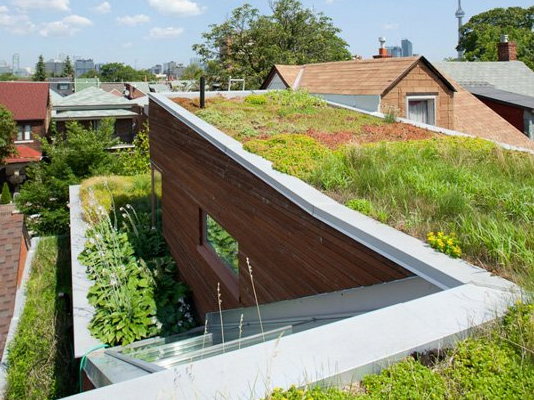 We have to mention the living roof, because it's just socool. Living  roofs are constructed to hold plants that grow on the roof to catch and  filter ...