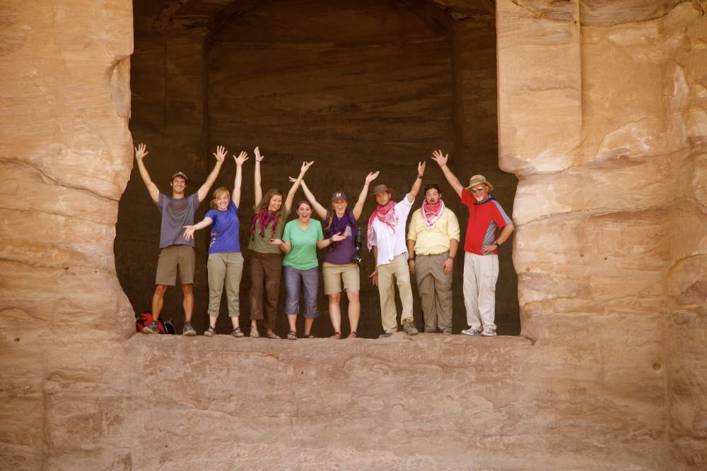 group monastery Petra Jordan tour