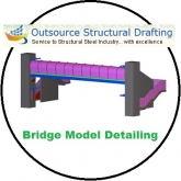 Bridge Model Detailing Projects - Outsource Structural Drafting