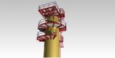 Circular platform detailing silo - The Engineering Design