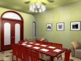 3D Interior Design - 3D Rendering India