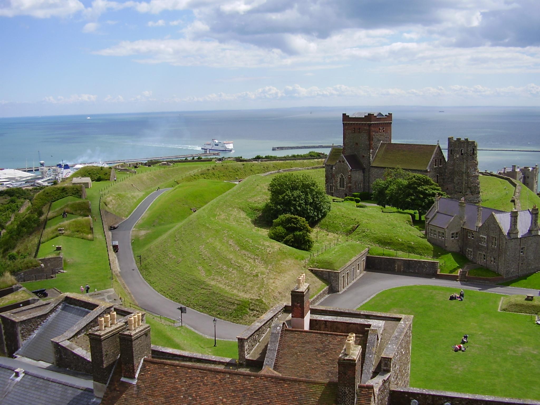 Best Castles In England: Dover Castle
