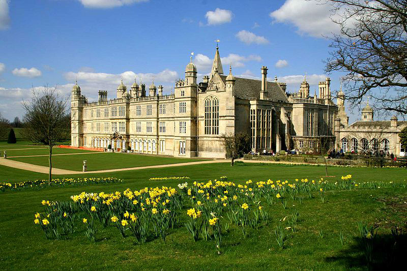 English Stately Homes: Burghley House