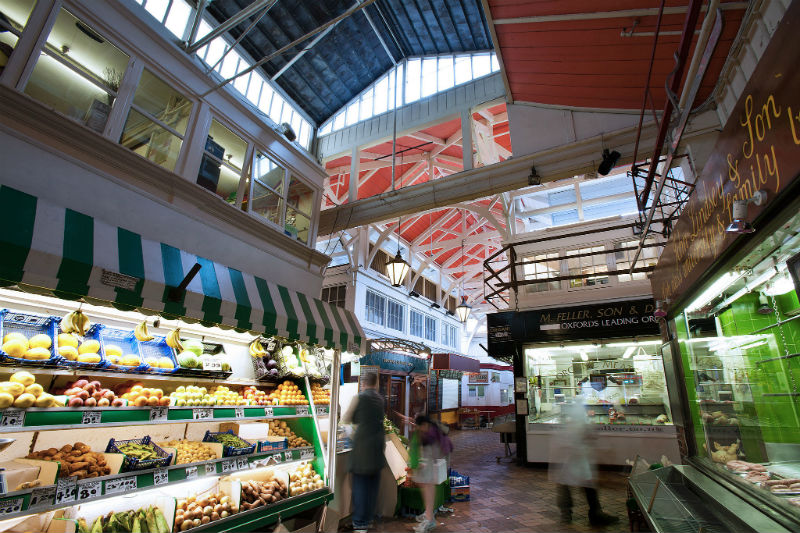 Oxford - Covered Market - 0133