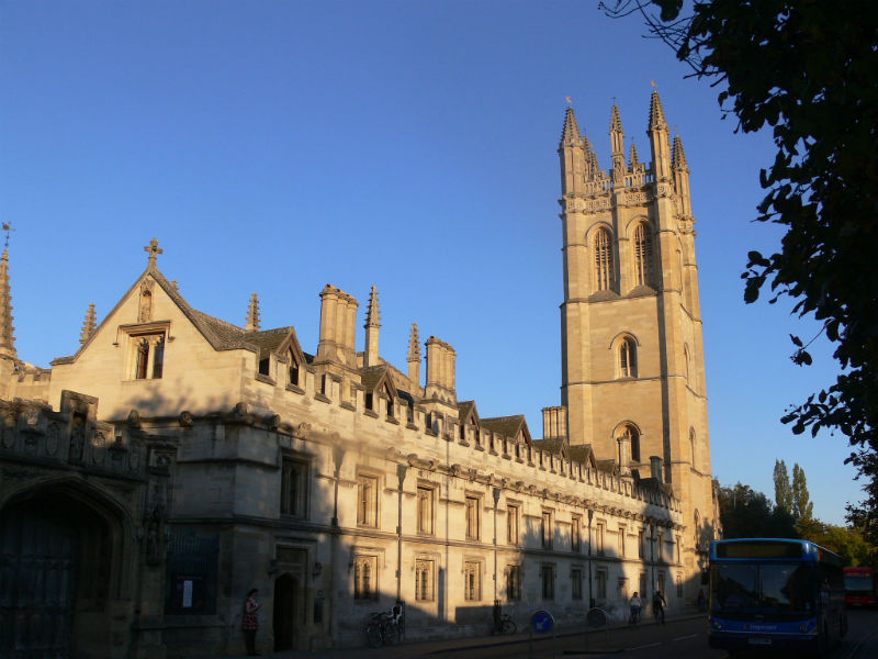 Oxford - Magdalen College 1