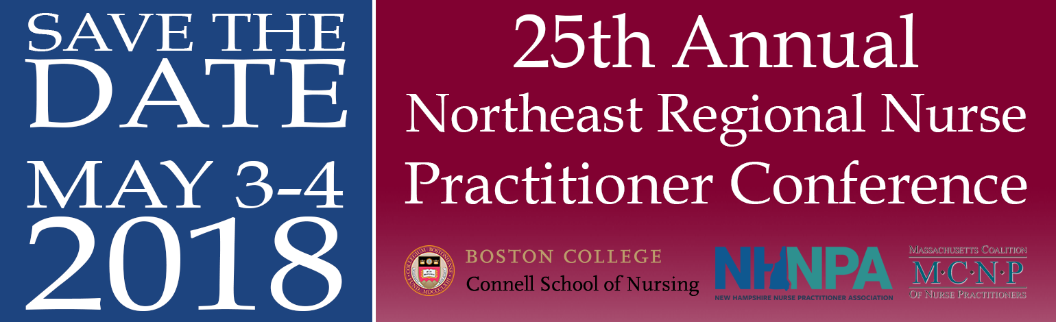 *SAVE THE DATE* 25th Annual Northeast Regional Nurse Practitioner Conference