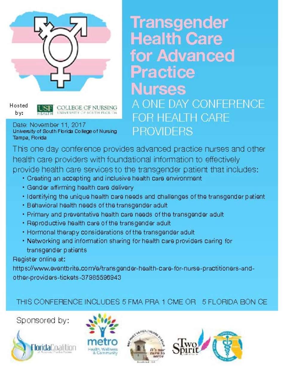 Transgender Healthcare for Advanced Practice Nurses