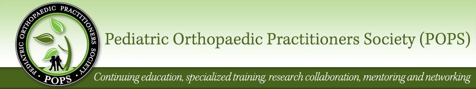 Pediatric orthopaedic practitioners society