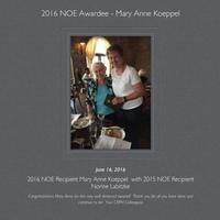 2015 & 2016 CAPN Nurse of Excellence Recipients