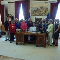 Public Act 14-12 Ceremonial Signing in Governor Malloy