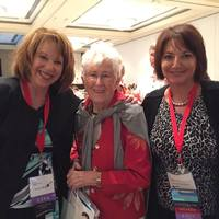 Arleen Wright, Loretta Ford and Doreen Cassarino at the FNPN Conference