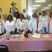 NP GROUP WORKING RALSTON HEALTHFAIR IN 10/2014