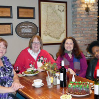 2016 Christmas Party at the La Madeleine French Cafe