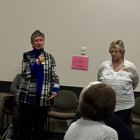 WSNA Executive Directors, Judy Huntington and Sally Watkins