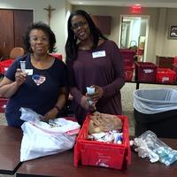 Members attended volunteer activity Mercy Care Nov 2nd