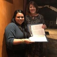 Jackie Tellez, Fall  2018 NP Student Scholarship winner