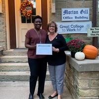 Dr. Diane John receives Daisy Faculty Award