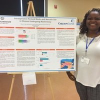 Dr. Seyi White, Thesis Poster Presenter