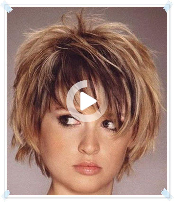 Short Hair With Layers Short Hair Styles For Round Faces Choppy Bob Hairstyles