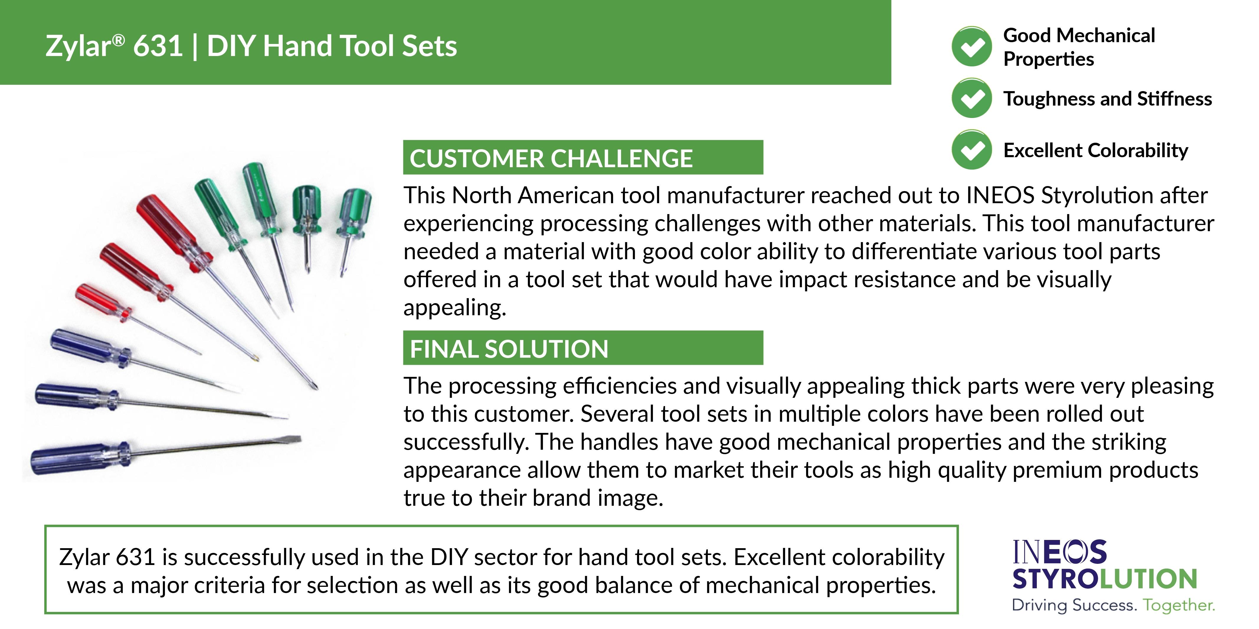 INEOS Case Study DIY Hand Tool Sets